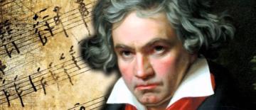 Billede af Beethovens 9. symfoni